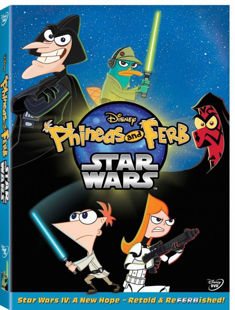 New Concept Art for Phineas and Ferb: Star Wars Special
